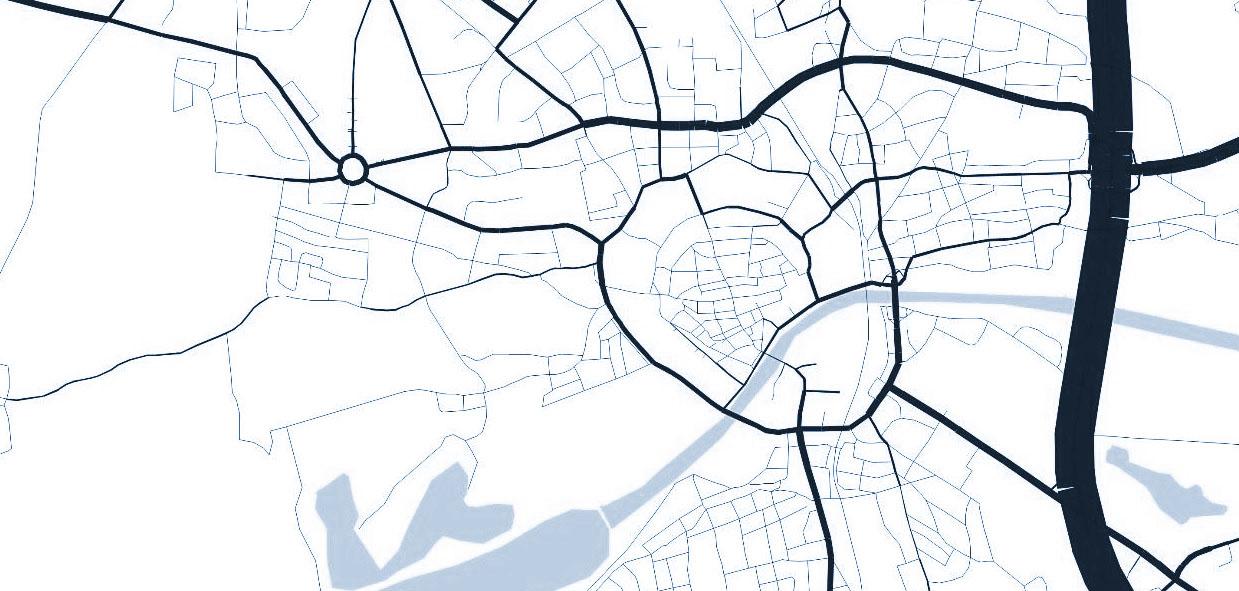 Verkehrsmodell Ingolstadt -  Verkehrsnetz und Matrizen zum Schwerverkehr Analyse- und Prognosenullfall