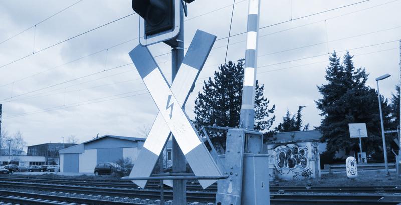 Verkehrszählung am Bahnübergang BÜ 36,258 Schaidt, Strecke (3433) Neustadt – Bundesgrenze