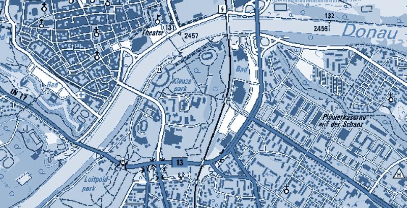 Weiterführende Verkehrsuntersuchung zum Bau einer 4. Donaubrücke in Ingolstadt